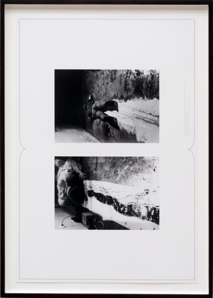Brian Kennon. Untitled Spread (Paik, McCarthy), 2011. courtesy Fourteen30 Contemporary
