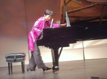 Susan Chan performs Sunday at First Presbyterian Church.