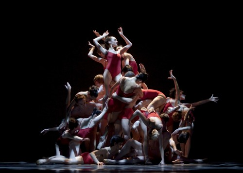"""Oregon Ballet Theatre performs Christopher Stowell's """"The Rite of Spring""""/Blaine Truitt Covert"""