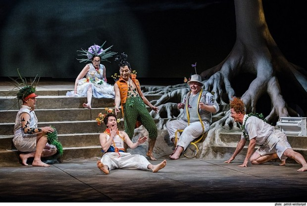 "A ""Midsummer"" fantasy at Portland Center Stage. Photo: Patrick Weishampel."