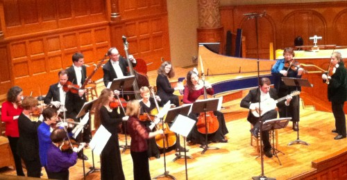 Portland Baroque Orchestra ended 2012 with three different concert programs.
