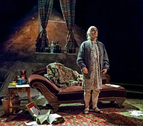 Eileen DeSandre in Profile Theater's The Road to Mecca. Photo: Jamie Bosworth.