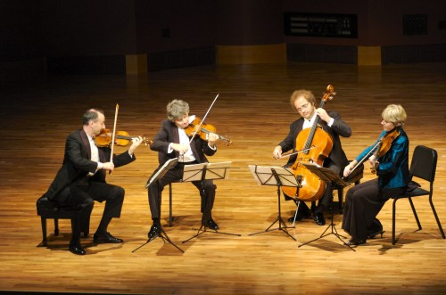 Friends of Chamber Music brings the Takacs Quartet to  Portland State University performs Monday and Tuesday. Photo: Patrick Ryan.