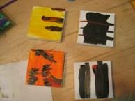 mini-canvases