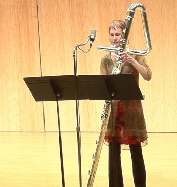 Tessa Brinckman performs Saturday afternoon with Mitsuko Dazai at Hipbone Studio.