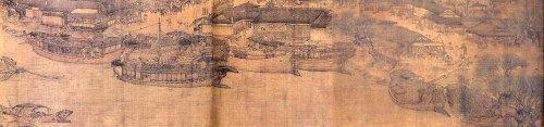 "Zhang Zeduan, ""The Spring Festival Along the River"" Figure 3"