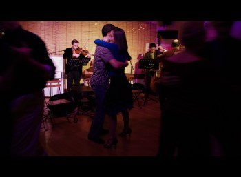 To realize the illusion of tango happiness and to be able to trust your leader. . . .