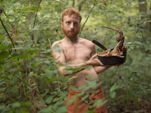 "Lucas Foglia, ""Acorn with Possum Stew, Wildroots Homestead, North Carolina""/Blue Sky Gallery"