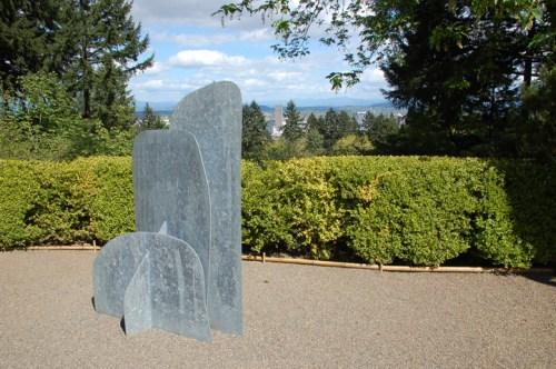 "Isamu Noguchi, ""Cloud Mountain""/Portland Japanese Garden"
