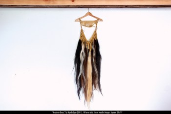 "Wynde Dyer's ""Horsehair Dress,"" on view at First Friday, seems a worthy aside in this discussion."