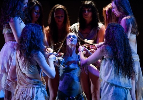 Lauren Michelle Redmond as The Chosen One and the  AL Dancers/Chris Leck