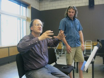 Virgin Ear Workshops: Dr. Robert Kyr with composer Adam Zukaitis