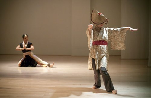 Subashini Ganesan and Michelle Fujii merged Japanese folk and Indian forms at Dance+/Conduit