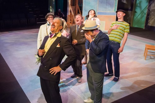 "Yucking it up: a ""Shrew"" for the funnybone. Photo: David Kinder"