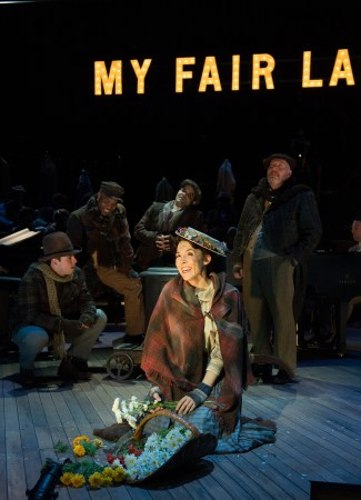 "Rachael Warren as Eliza Doolittle in OSF's ""My Fair Lady""/Jenny Graham"