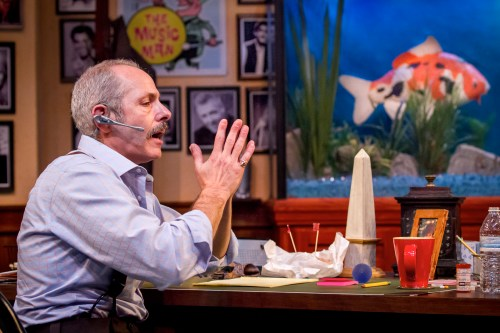 "Michael Mendelson in Craig Wright's ""Mistakes Were Made"" at Artists Repertory Theatre/Owen Carey"