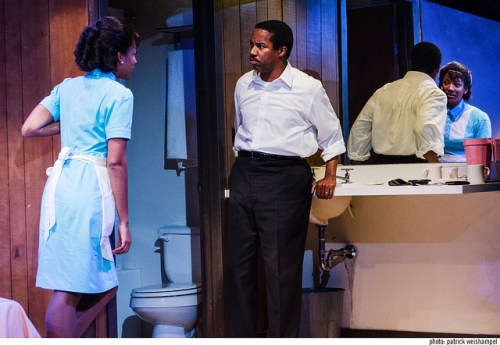 Natalie Paul as Camae and Rodney Hicks as Martin Luther King Jr/Patrick Weishampel