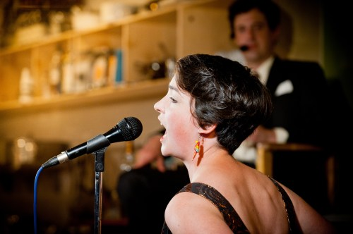Caitlin Mathes sang Weill and more at The Late Now earlier this month. Image: Kathryn Elsesser Photography.