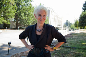 Frances Bronet on the U of O campus. Photo: Ricci Cande