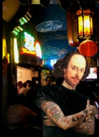 "Elizabeth Huffman's ""Bon Ton Roulet at the Shakespeare Café,"" @ Post5."