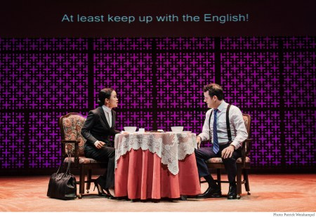 """Chilip and O'Connor in """"Chinglish."""" Photo: Patrick Weishampel"""