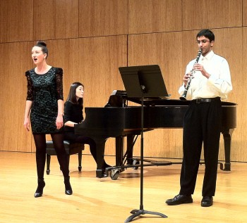 Martha Bryan, Jeongmi Yoon, and Andy Sharma performed in Crazy Jane Misbehaves.