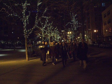 Unsilent Night is Tuesday in Portland.