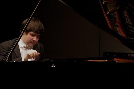Vadym Kholodenko performed at Portland Piano International. Photo: Jim Leisy.