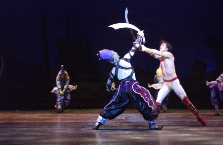 The Sultan and the Golden slave (Frank Affrunti and Hyuk-Ku Kwon). Eugene Ballet Company