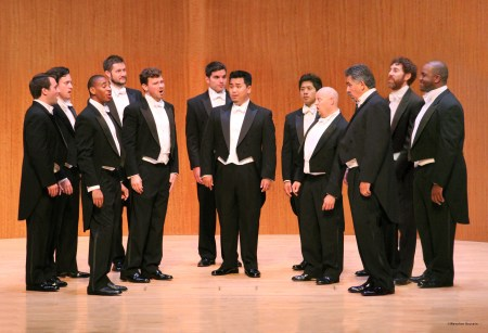 Chanticleer sings at Portland's Reed College Friday.