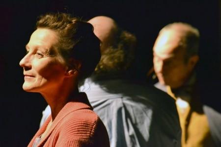 Bahr, alone in a crowd. Photo: Friderike Heue