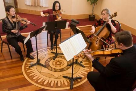 Arnica Quartet performed at March Music Moderne.