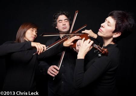 The new Free Marz Trio closes March Music Moderne Sunday. Photo: Chris Leck