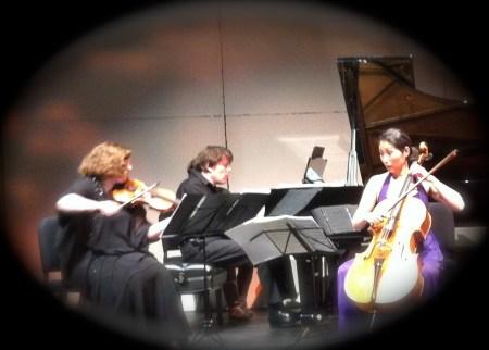 Trio Con Brio Copenhagen performed at Portland State University.