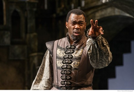 Daver Morrison as Othello: the mighty, fallen. Photo: Patrick Weishampel