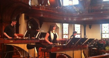 Oregon Percussion Ensemble.