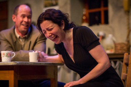 Kupper and Porter: a surprise romance. Photo: Owen Carey