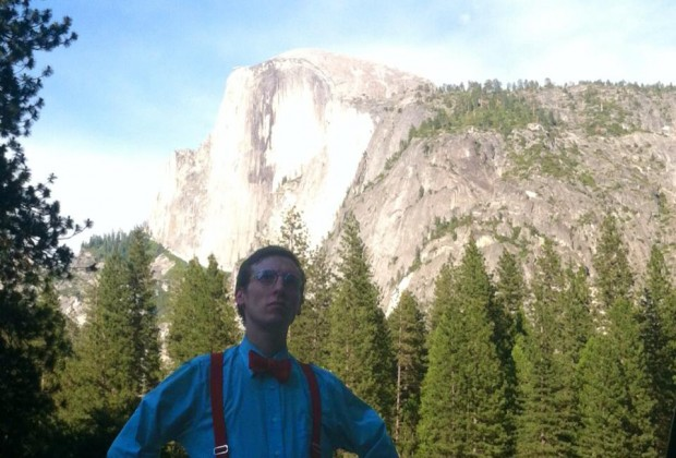 Who has two suspenders and a summer acting job at Yosemite? This guy.