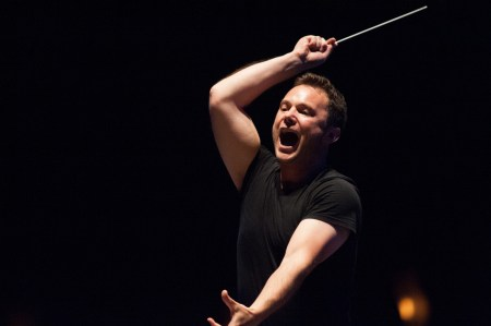 Matthew Halls wields the big stick at the Oregon Bach Festival this summer.