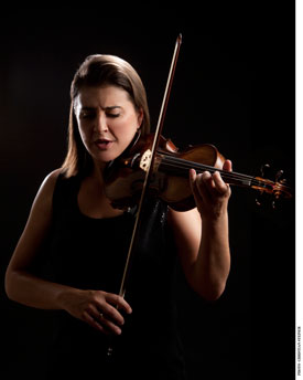 Nadja Salerno-Sonnenberg performs with the Oregon Symphony this weekend. Photo: Christian Steiner.