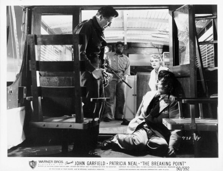 """""""The Breaking Point"""" with John Garfield and Patricia Neal is part of this year's Noir City festival."""