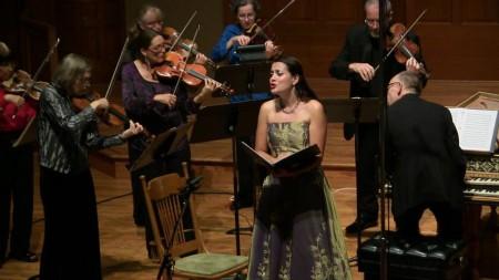 Amanda Forsythe starred with Portland Baroque Orchestra. Photo: Mark Powell.