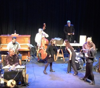 Artist Repertory Theatre's Organic Nation Listening Club mixed jazz and theater.