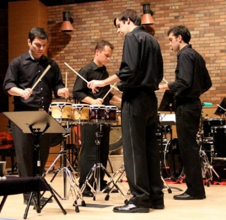 Portland Percussion Group performs Sunday at Portland State University.