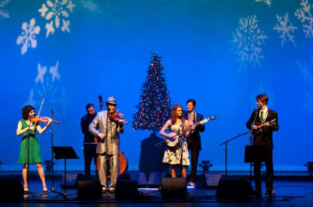 Mark O'Connor and Friends perform in Portland. Photo: Deanna Rose.
