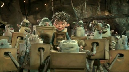 "Young Boxtrolls hero ""Eggs"" leads the unwashed masses out of oppression. No, seriously."