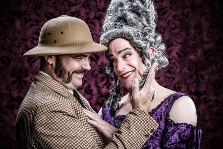 "Lamb and Norby, Third Rail's ""Irma Vep."" Photo: Owen Carey"