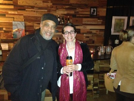 "Alan Alexander III of ""Alan's Confectionery (the musical),"" with Megan Bradley of ""Me Here Now."" Photo: Fertile Ground"