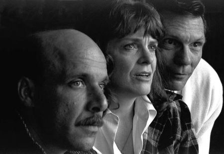 "Ted with Vana O'Brien and Keith Scales in Cygnet's ""Faith Healer."""