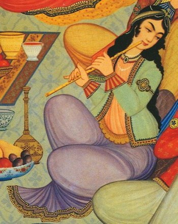 The ney, an ancient Persian instrument, has been played continuously for nearly 5,000 years (Wikipedia).